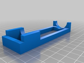 My Customized MPCNC nut trap drill guide