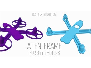 Alien Frame For 6mm Motors - V2