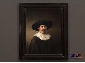 The Next Rembrandt Lithophane