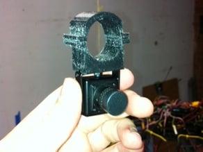FatShark FPV Camera Mount - 25mm Tube clamp