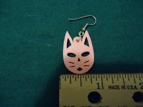 Kitty Face Earrings