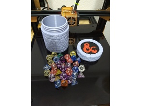 Dungeons & Dragons Dice Container
