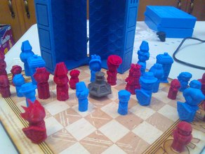 Doctor Who Chess 2018