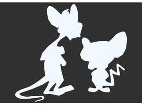 Cartoon Silhouette Sample