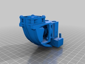E3D Chimera or Cyclops Filament Cooling 30mm Fan Shroud