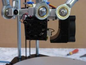 30 mm fan grid for J-HEAD fan in Geeetech G2S PRO delta printer