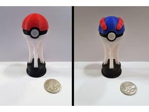 Pokemon PokeBall Trophy