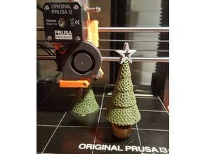 Hybrid Voronoi Christmas tree by ledeev001