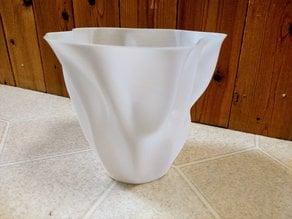 Organic Flowing Flower Vase