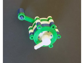 Planetary Gears (Stackable, 100% printable, snap together)