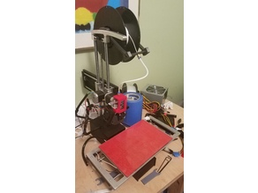 Printrbot Simple Metal Reverse Bowden (Feed Tube)