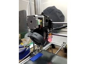 Prusa MK3 / MK2.5 Extruder Body with BLTouch mount