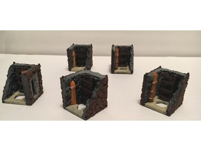Stackable Tabletop Sewer Tunnel Tiles