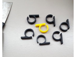 Single Screw Flexible Cable Clip