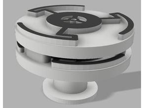 3d printable pagoda 2 FPV antenna