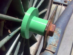 Wheelbarrow Bearing Spacer