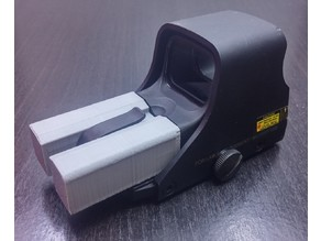 EOTech 511 AAA battery cap conversion