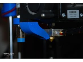 """Mistral"" Extruder Cooling Duct for the Anet A8 Printer"