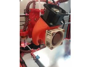 volcano 40mm cooling fan and E3DV6 40mm fan