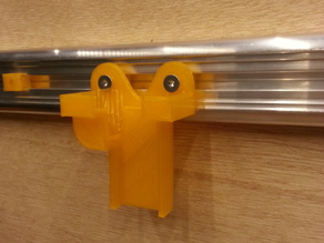 sliding caliper holster