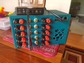 Multi Channel Whole Home Amplifier (piCorePlayer w/TPA3118 Mono Amps)