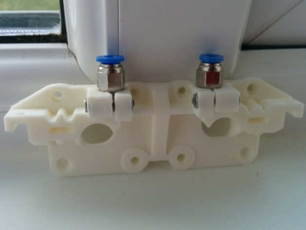 how to make a printrbot plus into a dual extruder