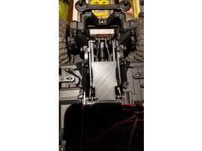 TRX-4 - Rear Support - Low CG Battery Tray