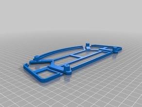 Neato XV-series vacuum robot swiffer pad attachment remix (added magnets)