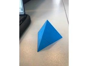 3D Pyramid Puzzle 2 Pieces