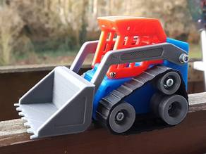 Mini Track Loader without RC