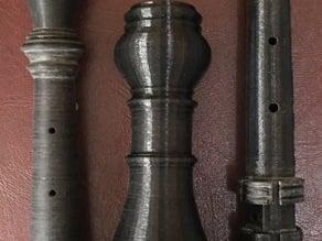 Baroque oboe (modern pitch)