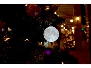 Progressive Detailed Moon Lamp Ornament