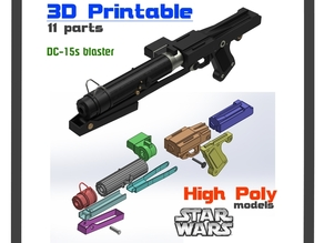 STAR WARS DC-15s Blaster Rifle