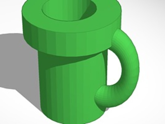 super mario pipe mug by lokilaufeysen - Thingiverse 6c72848343