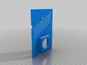 Quieter + Cooler Ender-3 Control Box Lid (Stock+4020 fan compatible)