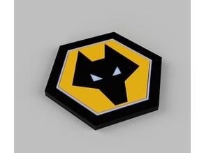 Wolves FC Coaster / Logo