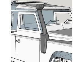 snorkel for 3D printed Land Rover Defender
