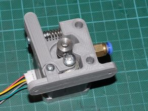 Bernis bowden extruder for MK7 pulley, left and right versions