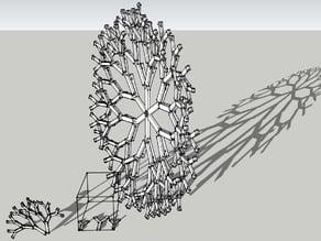 Fractal Recursive Branch Experiment
