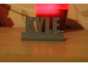 Kyle stand