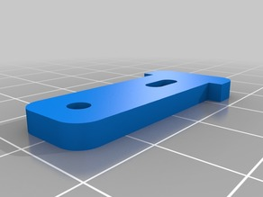 Mounting tab for cheap geared motors