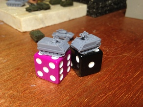 m901 and m113 w/mg for microarmor __ now with a t-50 turret!