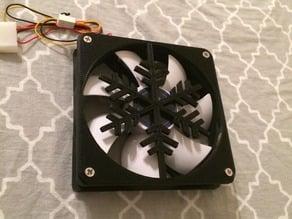 """120mm Fan Grill """"Snowflake"""""""