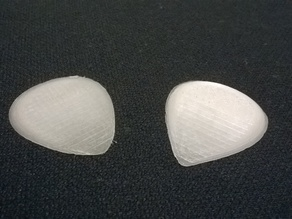 Guitar Pick - Use up waste filament!