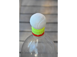 Tennis Ball bottle cap