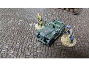 Gaz 67 Jeep 28mm