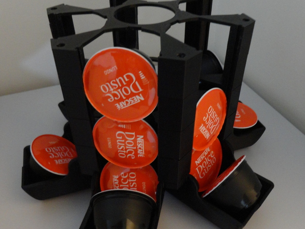 dolce gusto capsule holder by p1prototipos. Black Bedroom Furniture Sets. Home Design Ideas