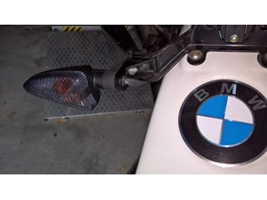 Adapter for turn signal for BMW vehicle