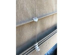 Folding curtain clips