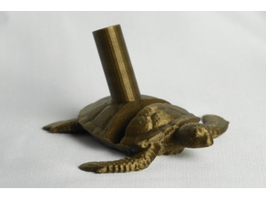 Sea Turtle Phone and Crochet Hook/Pen Holder